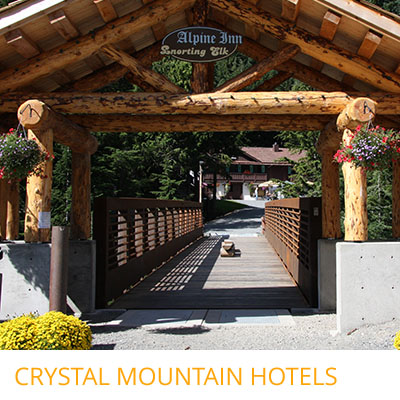 Three Distinctive Hotels With A Choice Of Style And Character Within Walking Distance The Mt Rainier Gondola Dining At Charming Alpine Inn