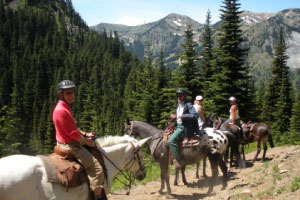 Horseback Riding - Stay Rainier